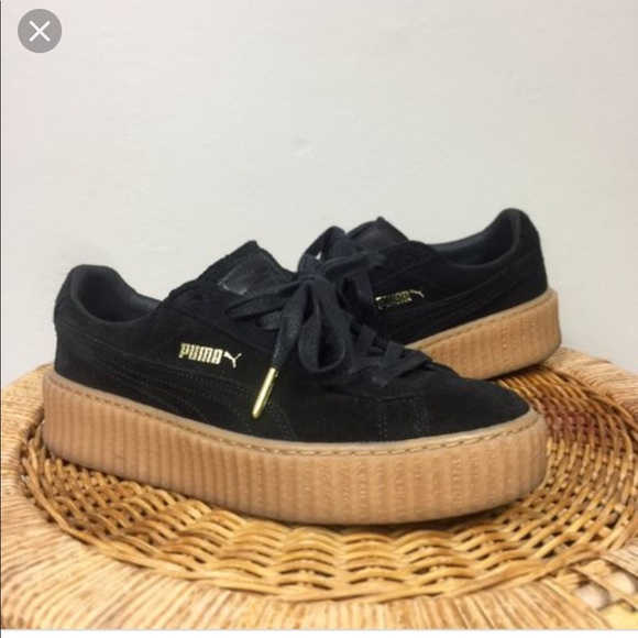 Puma Shoes | Black Fenty Puma Creeper